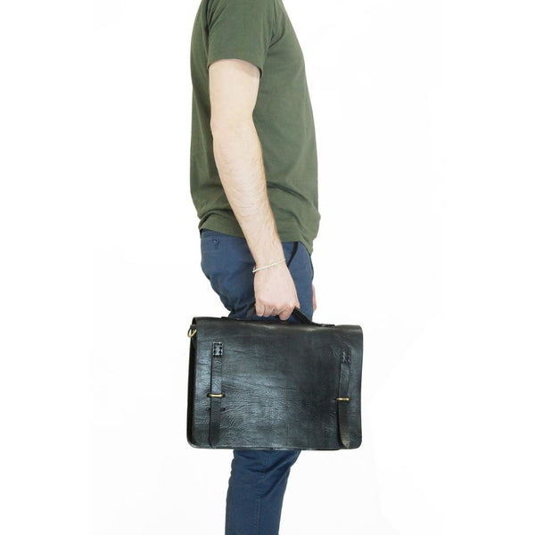 Camden Loop Briefcase - Black