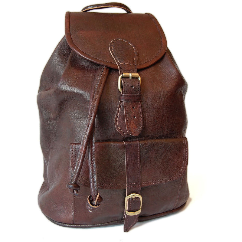 Large Sac a Dos Backpack - Chocolate