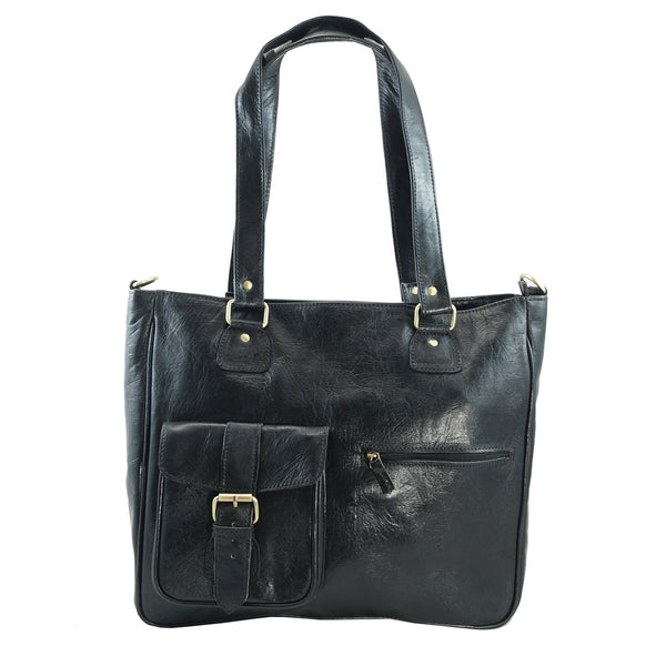 Edith  Tote - handmade leather bags smadlondon