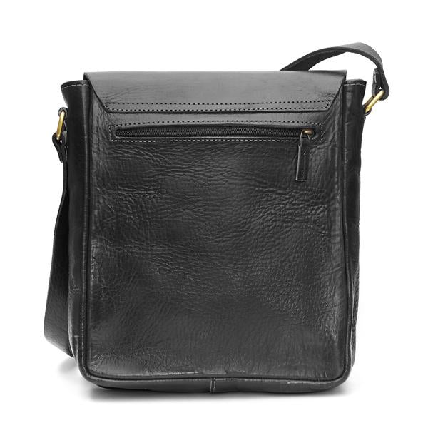 Billy Reporter Bag- Black | ISMAD LONDON