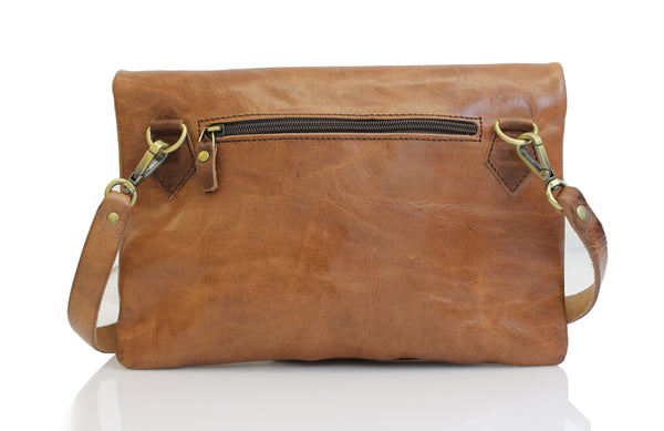 Foldo 2-in-1 Crossbody - handmade leather bags smadlondon