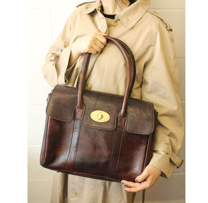 Harriet Handbag -Chocolate