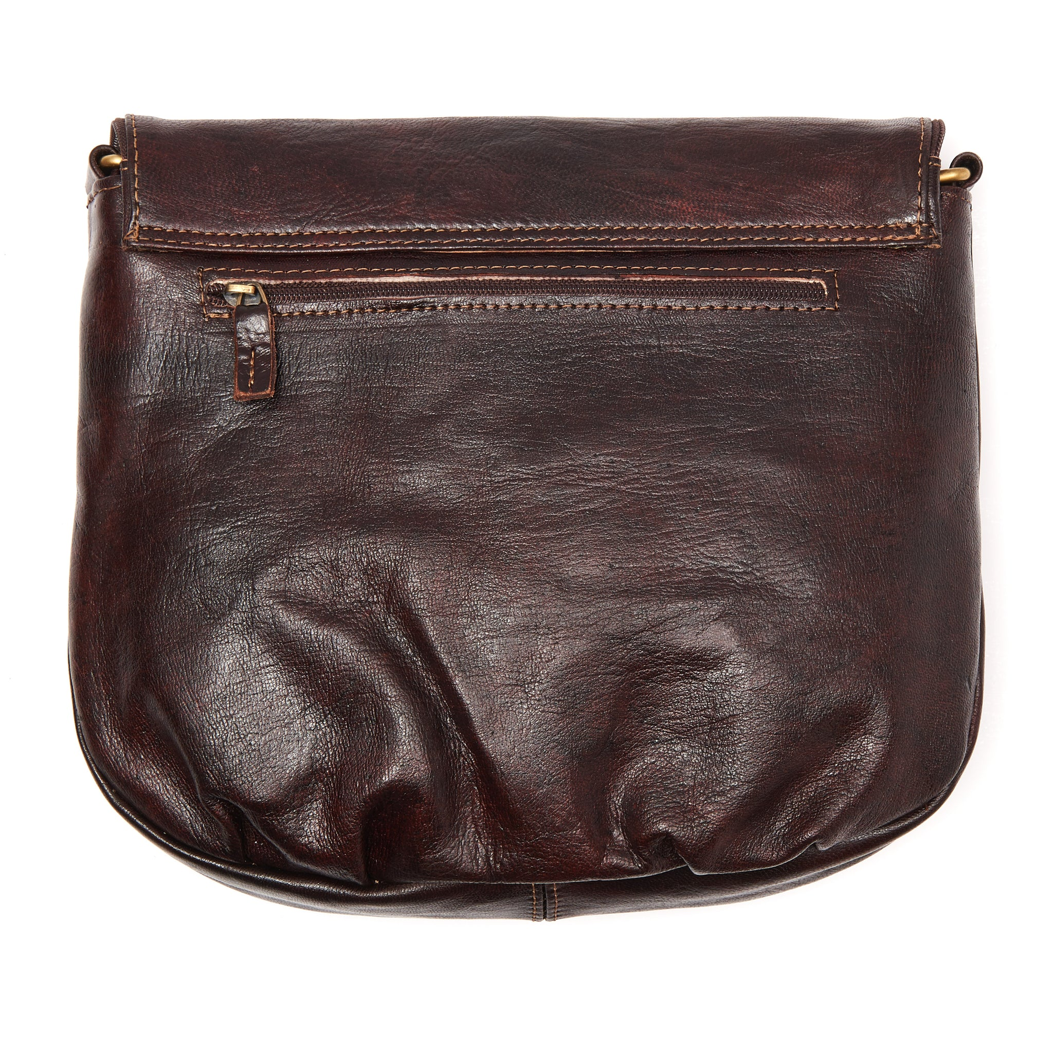 Half-Moon Crossbody Leather bag - ismadlondon