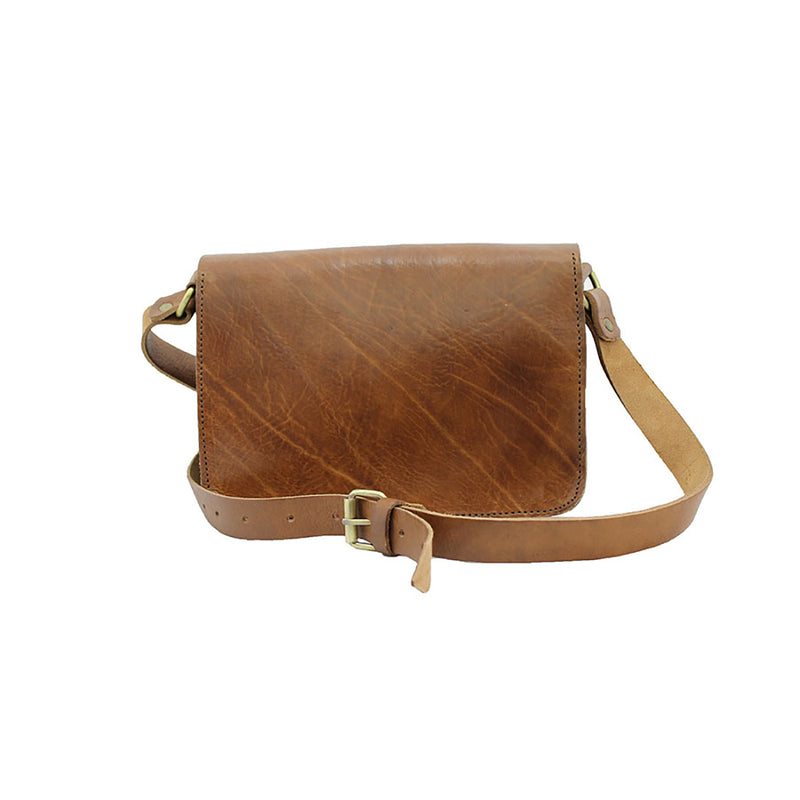 Heidi Crossbody Bag - Tan-ISMAD LONDON