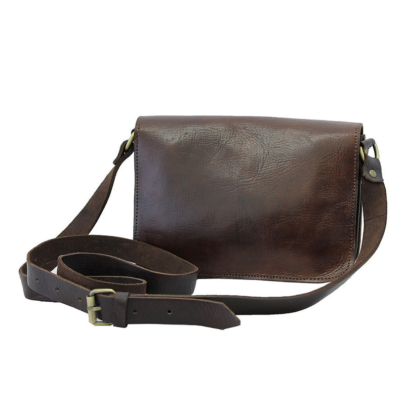Heidi Crossbody Bag - Chocolate-ISMAD LONDON