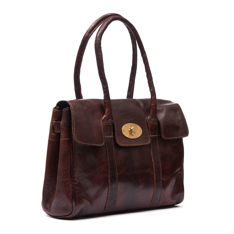 Harriet Handbag -Chocolate-ISMAD LONDON