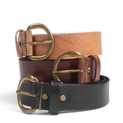 Classic Leather Belt-ISMAD LONDON