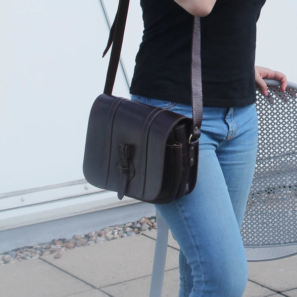 Kate Crossbody - Chocolate
