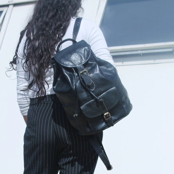 Medium Sac a Dos Backpack - Black