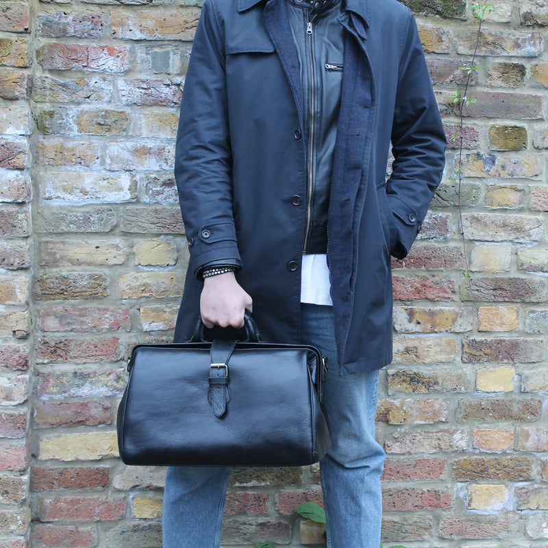 Doctor Bag - Black-ISMAD LONDON