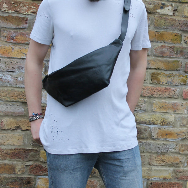Simo Bumbag - Black-ISMAD LONDON