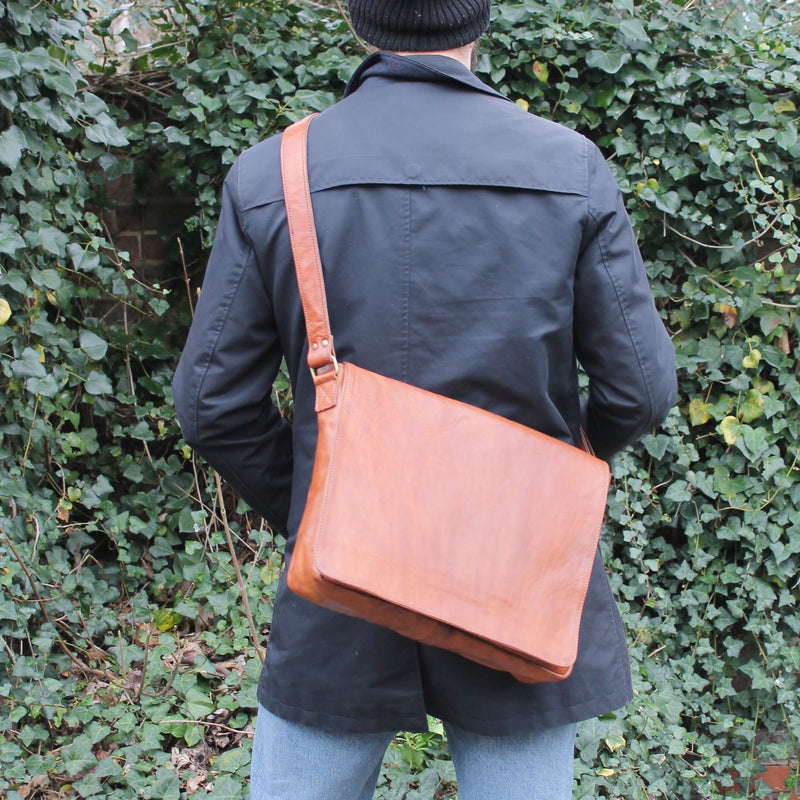 Postman Messenger - Tan-ISMAD LONDON