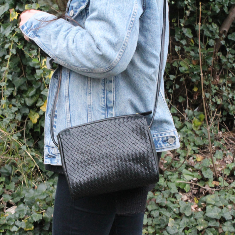 Simone Crossbody - Black