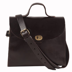 Vicky Handbag - Chocolate-ISMAD LONDON