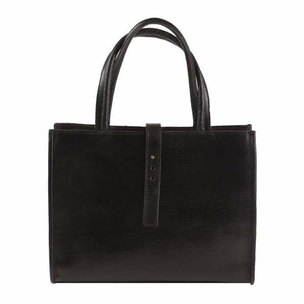 Gisele Tote - Black-ISMAD LONDON