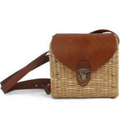 Friday wicker Crossbody