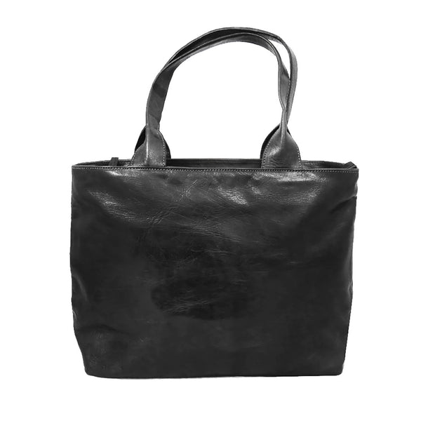 Ismad Shopper Tote -Black-ISMAD LONDON