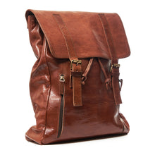 Jack Leather Backpack/Messenger - ismadlondon
