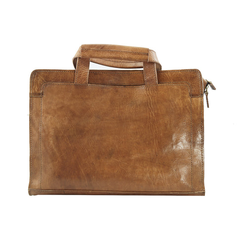 £125.00 - Marvin Laptop Leather Messenger bag