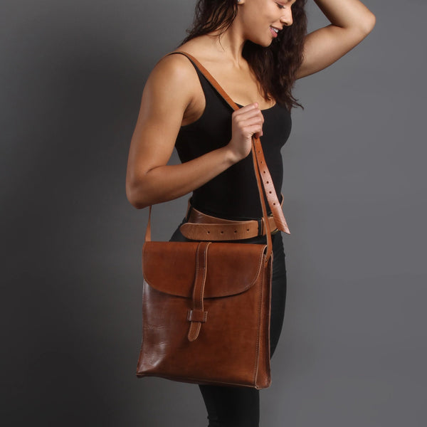 Nico Loop Messenger - Tan