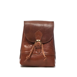 Sac a Dos Mini Leather Backpack - ismadlondon