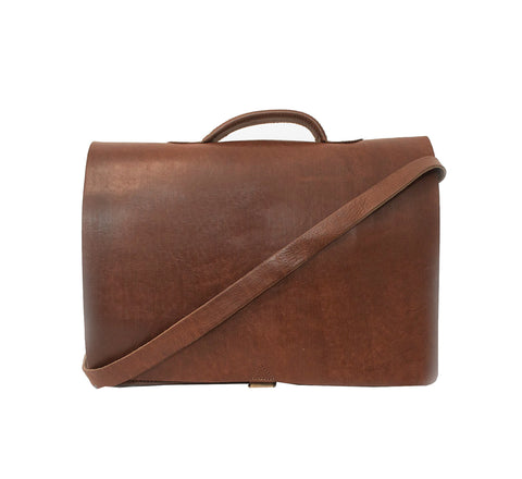 Scandi Messenger - handmade leather bags smadlondon