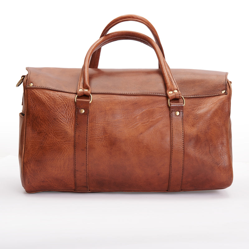 Ismad Travel Bag - Tan