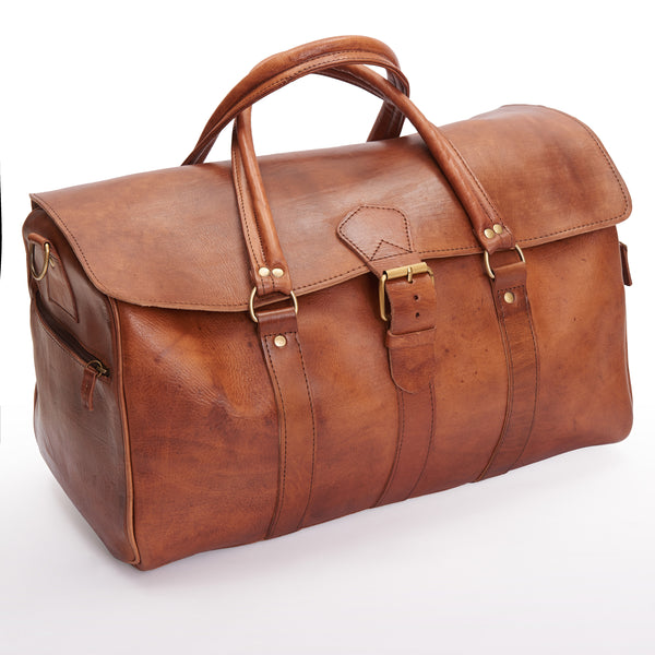 Ismad Travel Bag - Tan-ISMAD LONDON