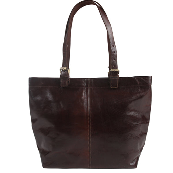 Shopper Tote - Chocolate-ISMAD LONDON