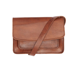 Medina Shoulder Bag - Tan-ISMAD LONDON