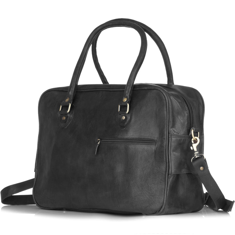 Fred Overnight Bag - Black