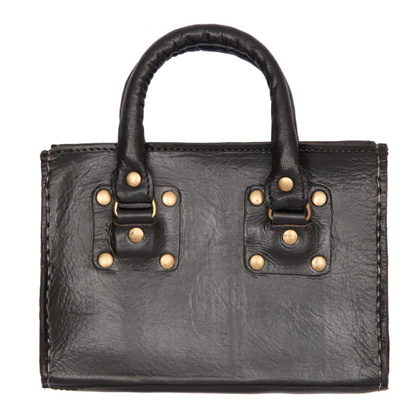Box HandBag Black