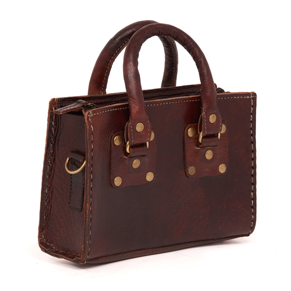 Box Handbag Chocolate