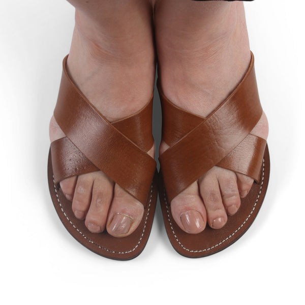 Ladies Cross Sandals