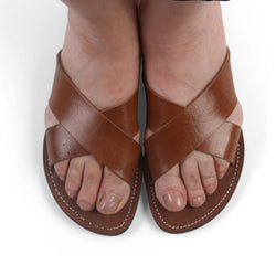 Mens Cross Sandals-ISMAD LONDON