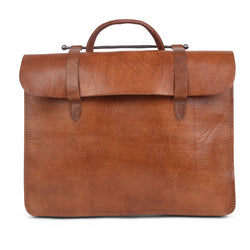 Document Holder Bag - Tan-ISMAD LONDON