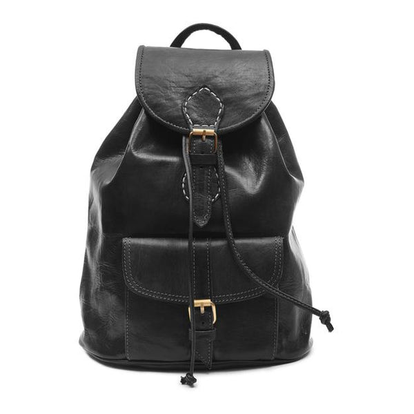 Medium Sac a Dos Backpack - Black-ISMAD LONDON