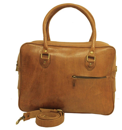 Travel Fred Leather Holdall - ismadlondon