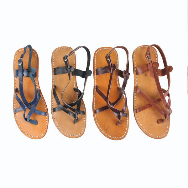 £35.00 - Isabelle Leather sandals