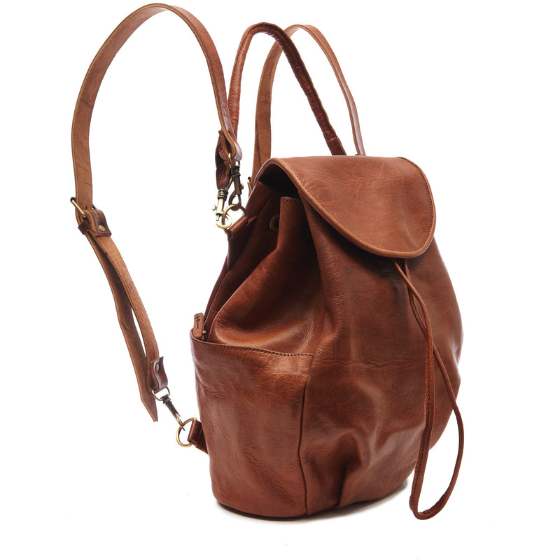 Laura 2-in-1 Backpack - Tan-ISMAD LONDON