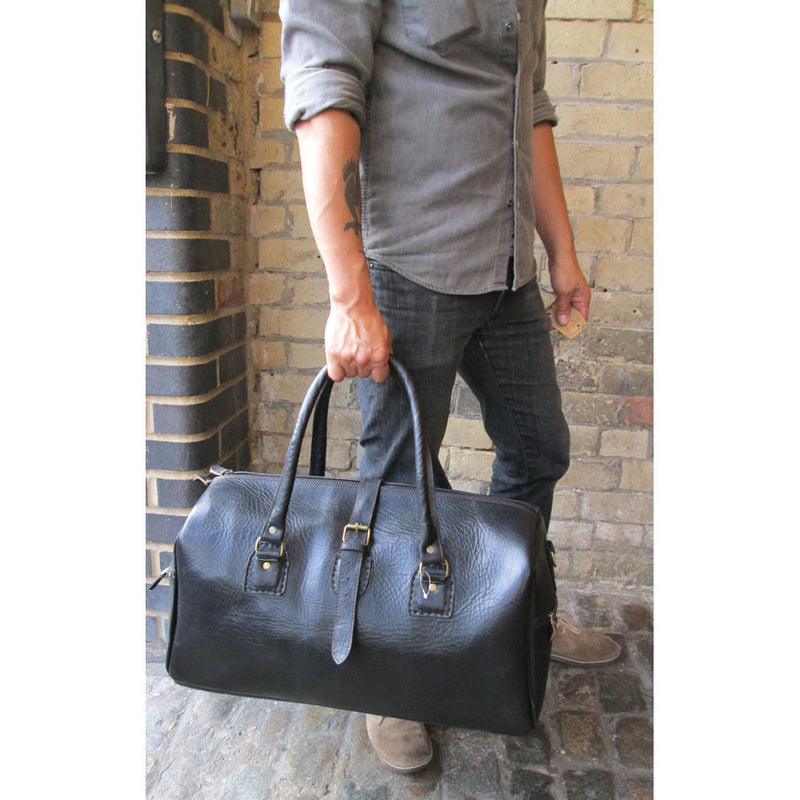 Urban Travel Bag - Chocolate-ISMAD LONDON