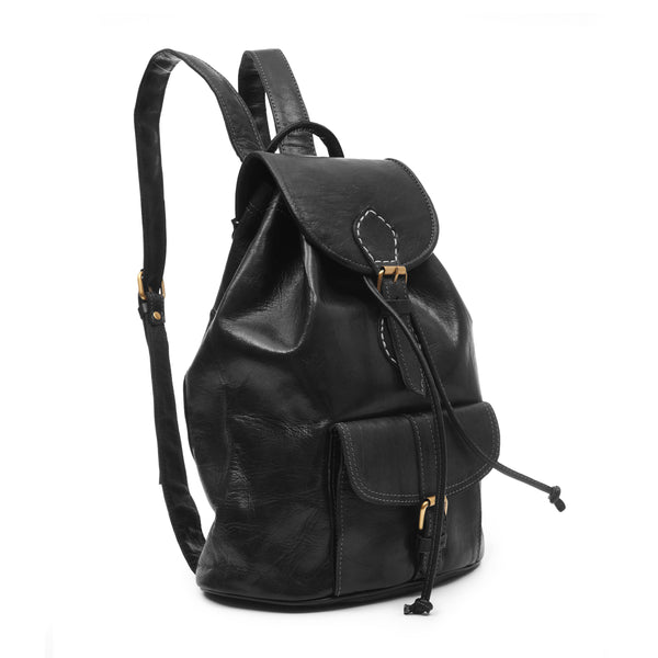 Large Sac a Dos Backpack - Black
