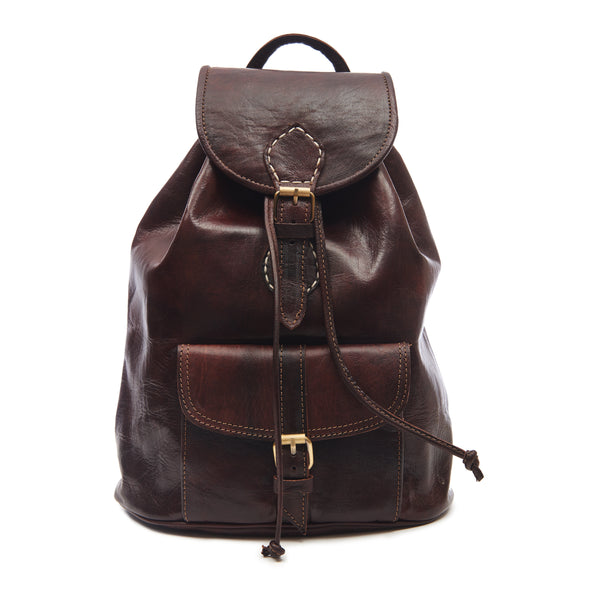 Large Sac a Dos Backpack - Chocolate-ISMAD LONDON