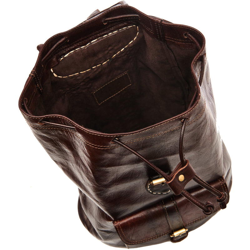 Medium Sac a Dos Backpack - Chocolate-ISMAD LONDON