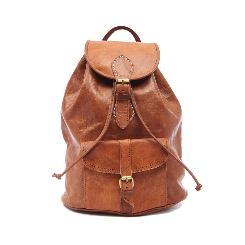 Medium Sac a Dos Backpack - Tan-ISMAD LONDON