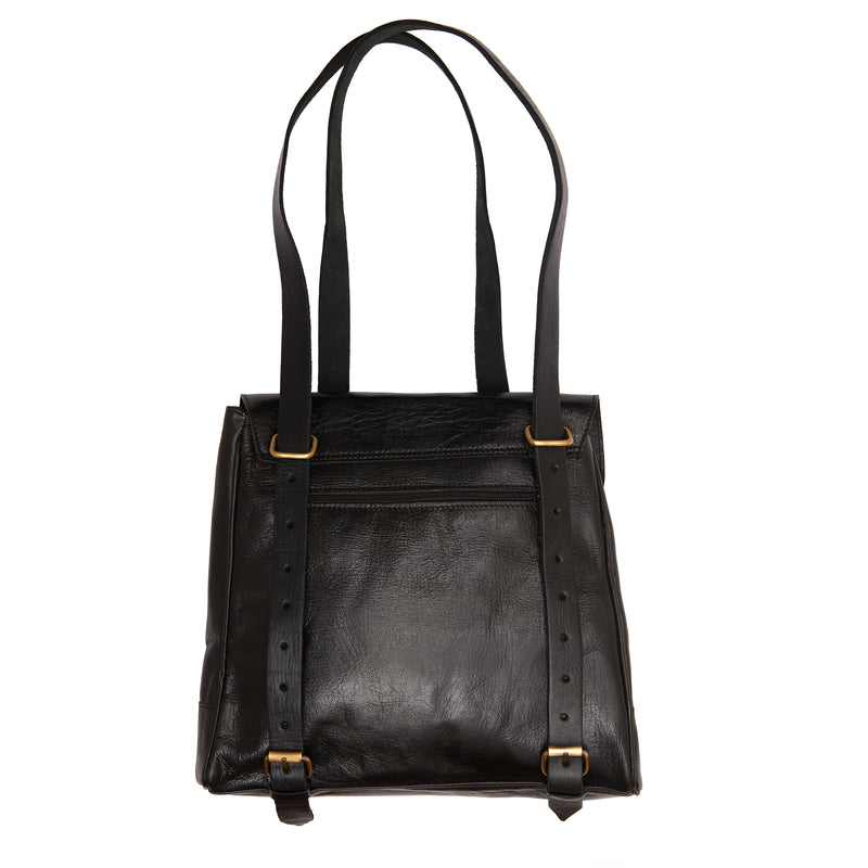 Cleo 2-in-1 Backpack - Black-ISMAD LONDON