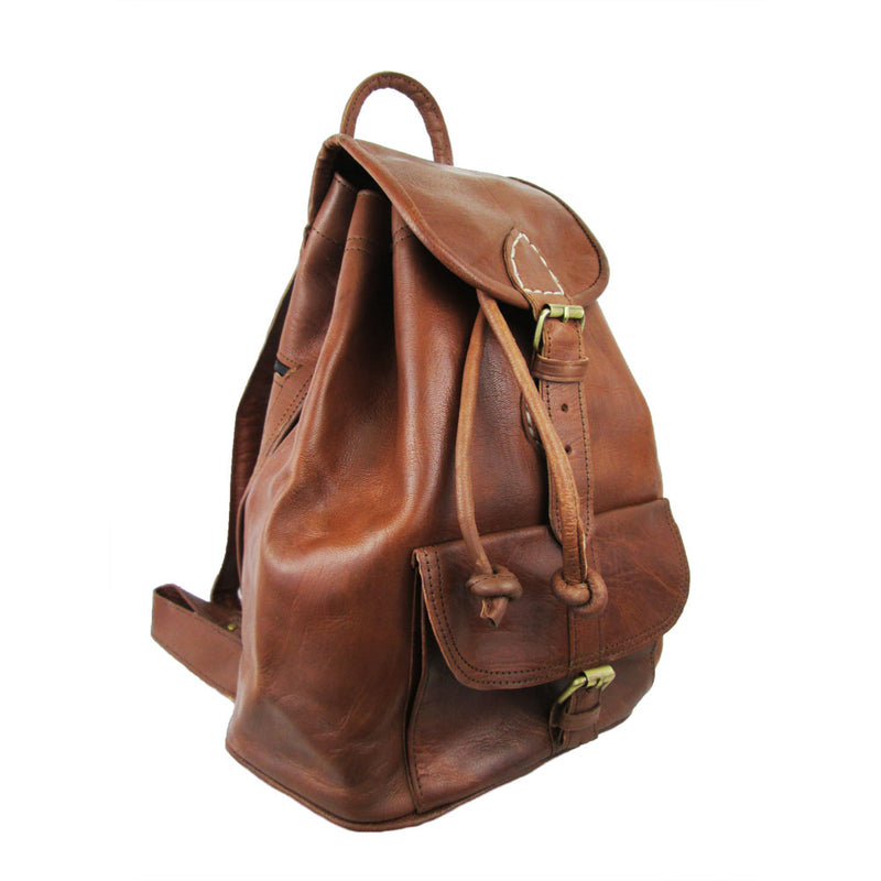 Small Sac a Dos Backpack - Tan-ISMAD LONDON