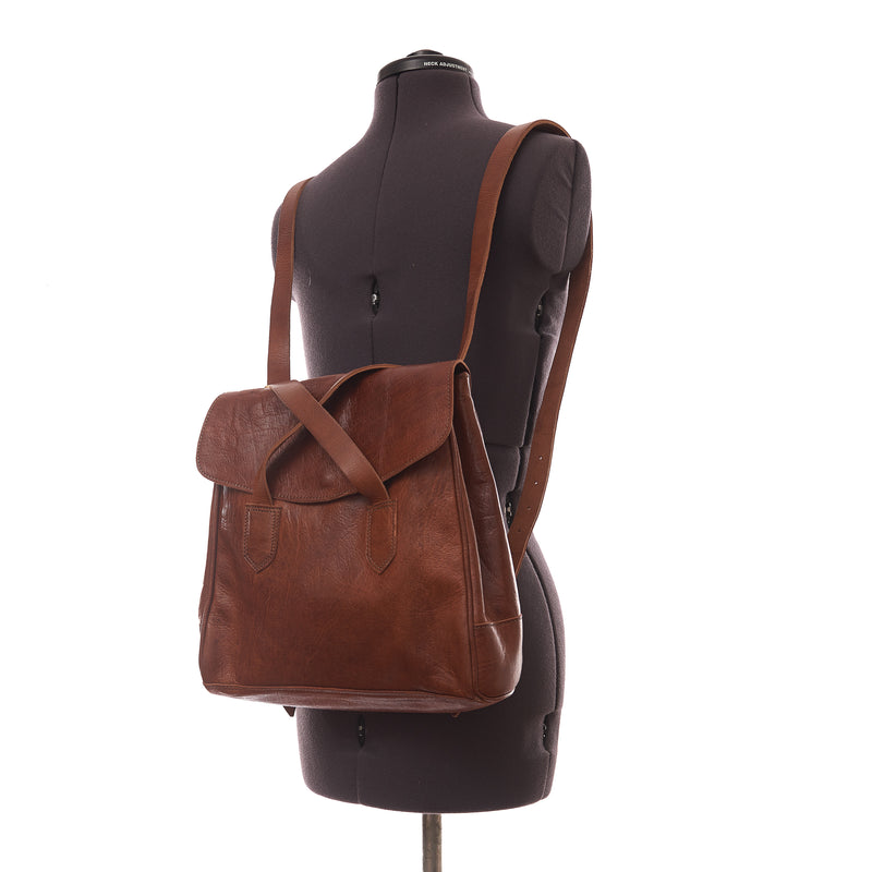 Cleo 2-in-1 Backpack - Tan-ISMAD LONDON