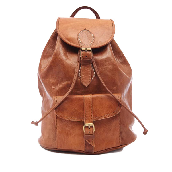 Small Sac a Dos Backpack - Tan
