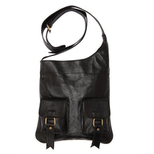Shark Leather Crossbody Bag - ismadlondon